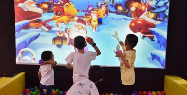 Interactive Wall Projection System